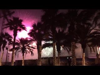 Firework New year 2015 near Burj Al Arab